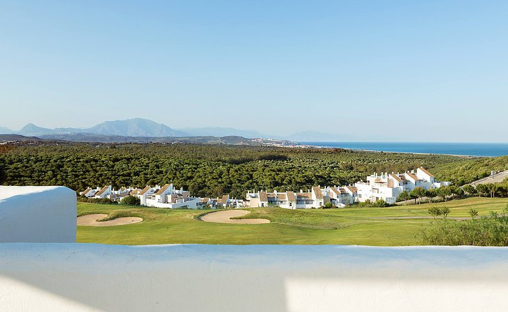 Homes on the golf course of La Alcaidesa