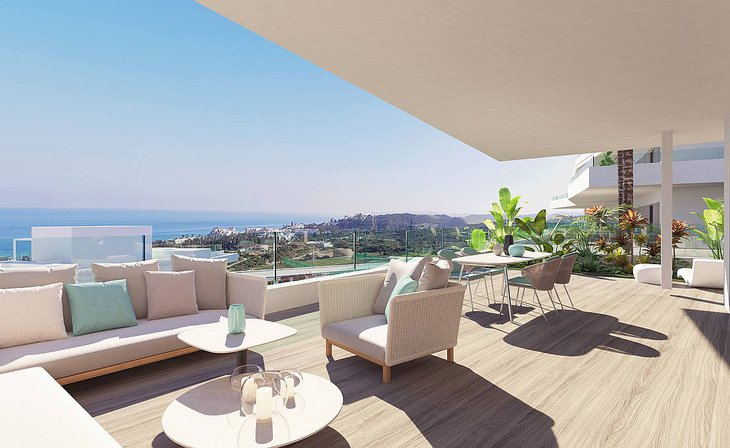 Elegant apartments and penthouses in Estepona