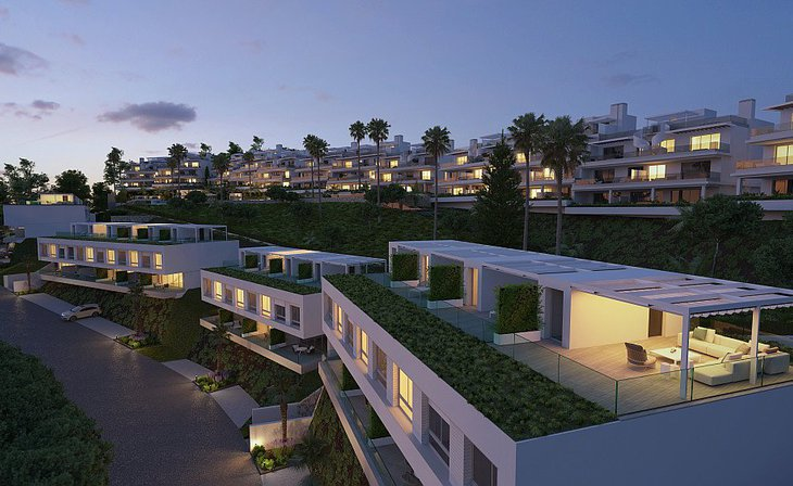 Modern townhouses in Cancelada