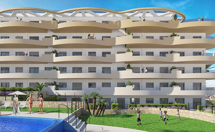 Apartments a few meters from the Arenales del Sol beach