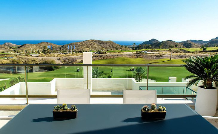 Spacious homes on the first line of the golf course in Pulpí, Almería