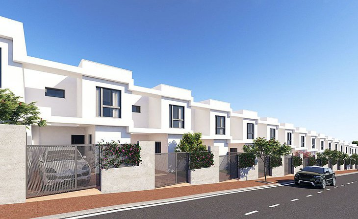 Semi-detached houses 5 minutes from the beach of Getares in Algeciras