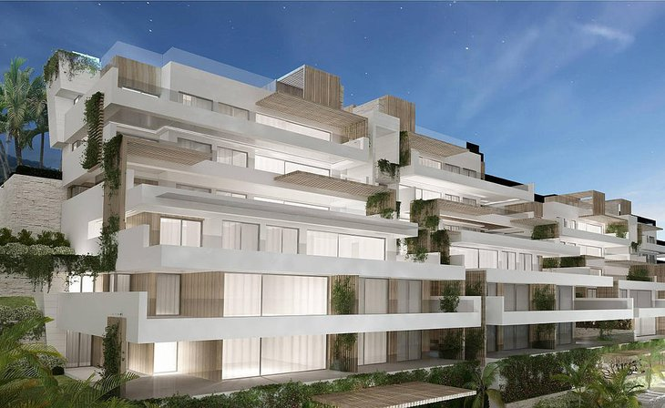South facing apartments Estepona