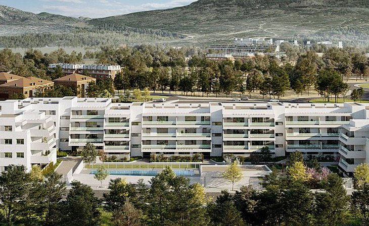 Spacious and bright apartments surrounded by Nature in Collado Villalba, Madrid