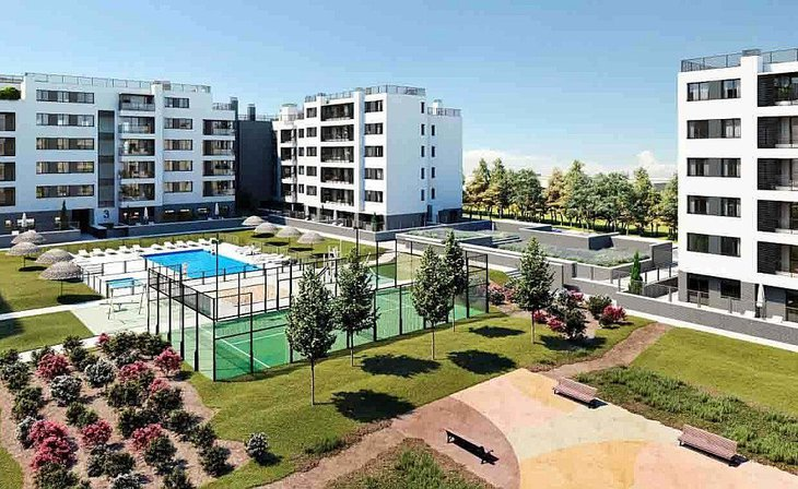 Spacious homes with great common areas in Valdemoro, Madrid